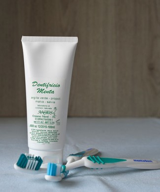 dentifricio menta