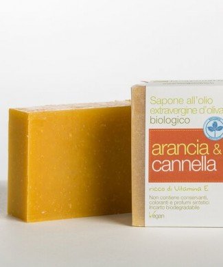 sapone aranciocannella