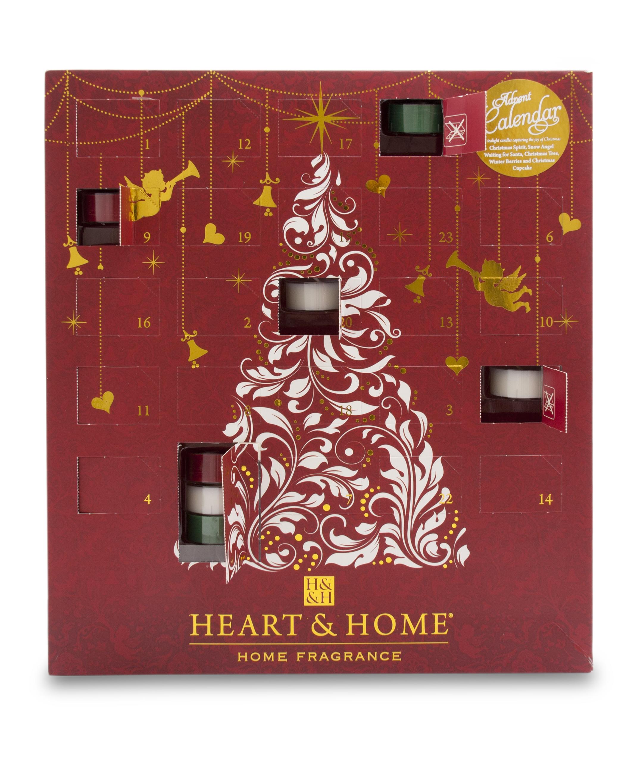 Immagini Calendario Dellavvento.Calendario Dell Avvento Heart And Home